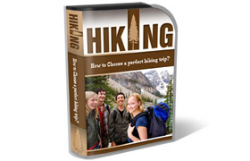 Hiking HTML PSD Template