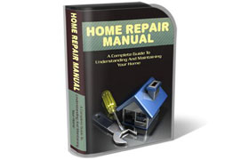 Home Repair Manual WP HTML PSD Template