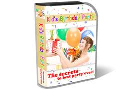 Kids Birthday Party HTML PSD Template
