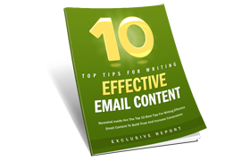 10 Top Tips For Writing Effective Email Content