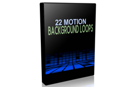 22 Motion Background Loops