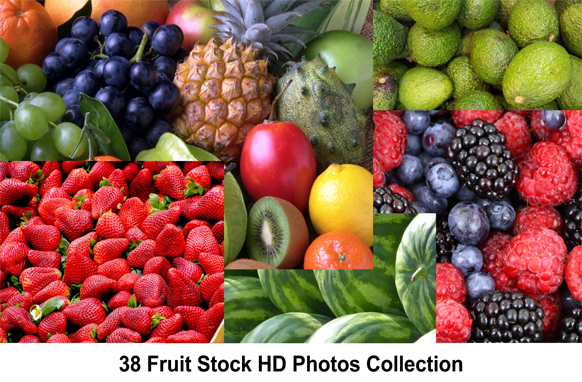 38 Fruit Stock HD Photos Collection
