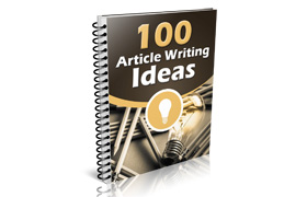 100 Articles Writing Ideas