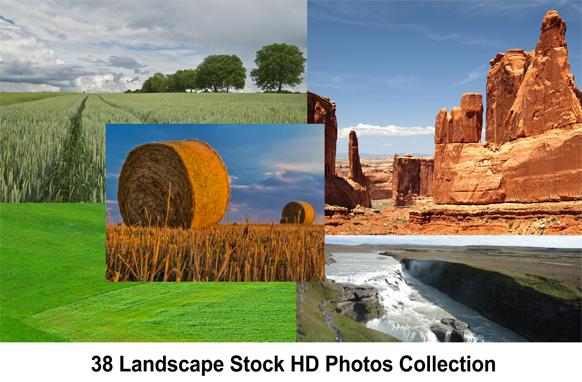 38 Landscape Stock HD Photos Collection