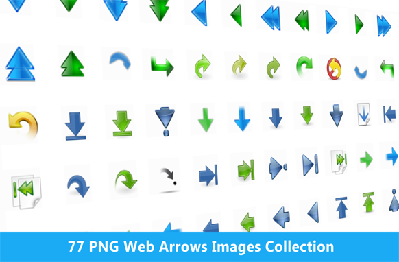77 PNG Web Arrows Images Collection