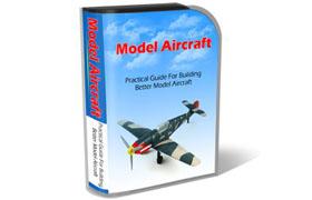 Model Aircraft HTML PSD Template