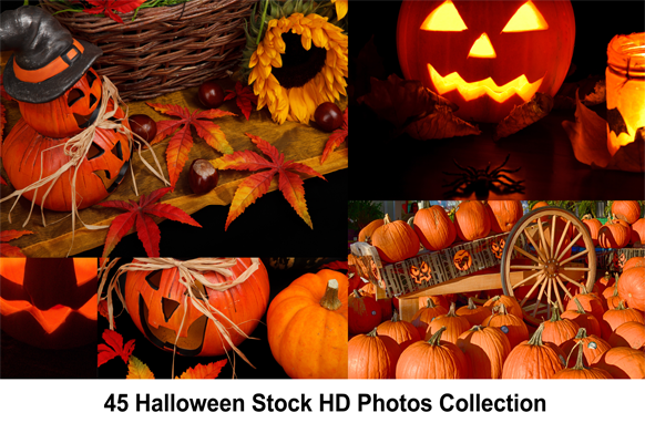 45 Halloween Stock HD Photos Collection