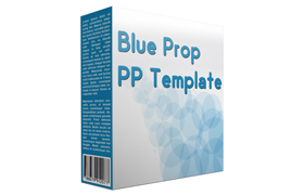 Blue Prop PP Template
