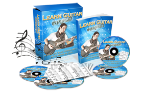 Learn Guitar Overnight HTML PSD Minisite Template