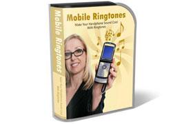 Mobile Ringtones WP HTML PSD Template