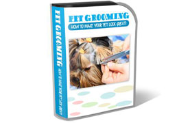 Pet Grooming HTML PSD Template