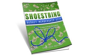 Shoestring Budget Membership Site