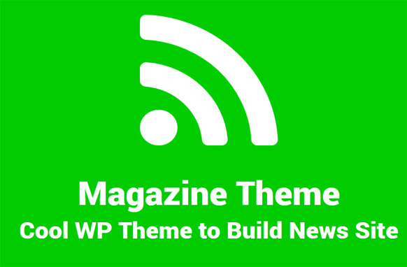 Magazine Style WordPress Theme Volume 1