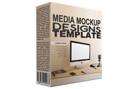 Media Mockup Designs Templates