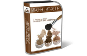 Mineral Makeup HTML PSD Template