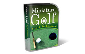 Miniature Golf HTML PSD Template