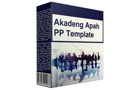 Akadeng Apah PP Template