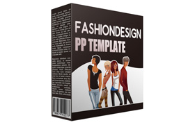 Fashion Design PP Template