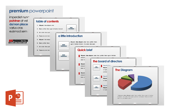 Premium Power Point Templates Edition 2