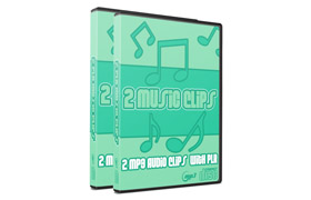 2 MP3 Audio Clips with PLR