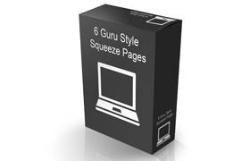 6 Guru Style Squeeze Pages