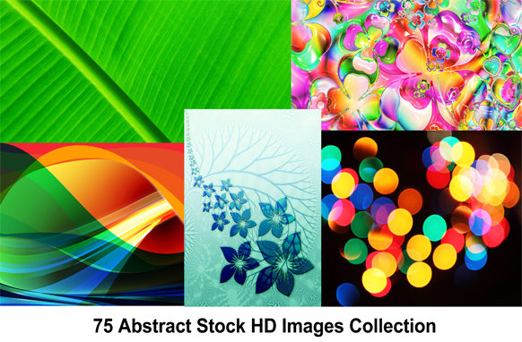 75 Abstract Stock HD Images Collection