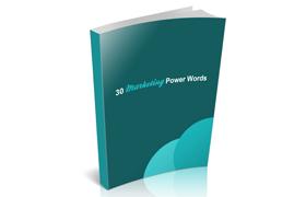 30 Marketing Power Words