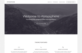 Atmosphere Pro WP Theme Genesis Framework