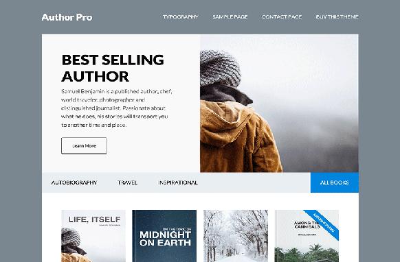 Author Pro WP Theme Genesis FrameWork
