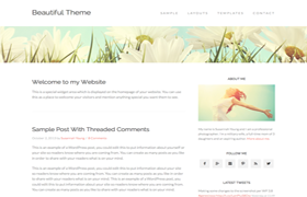 Beautiful Pro WP Theme Genesis FrameWork