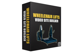 WheelChair Lifts Video Site Builder