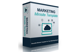 Marketing Minisite Template V9