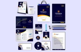 Galunggung Print Design Template