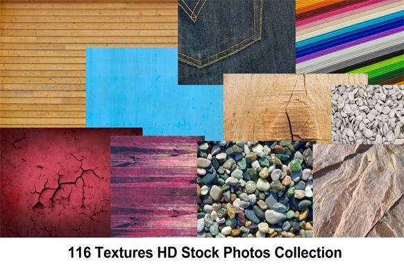 116 Textures HD Stock Photos Collection