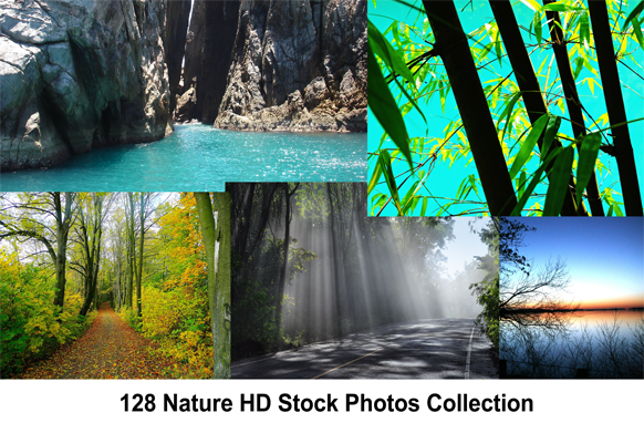 128 Nature HD Stock Photos Collection
