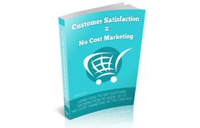 Customer Service No Cost Marketing