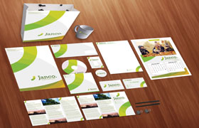Janco Print Design Template