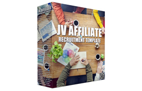 JV Affiliate Recruitment Template