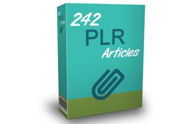 242 PLR Articles