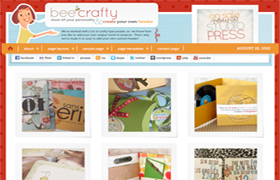 Bee Crafty Genesis FrameWork Wordpress Theme