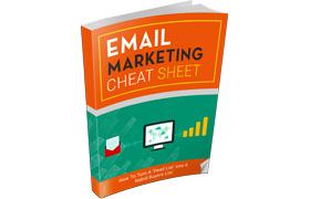 Email Marketing Cheat Sheet