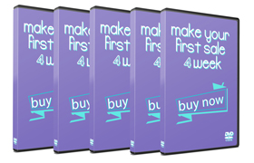 Make Your First Sale – 4 Week Course