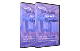 How To Create Products Fast With Teleseminars