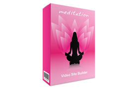 Meditation Video Site Builder