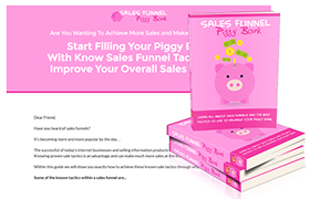 Sales Funnel Piggy Bank