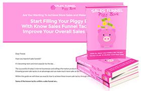 Sales Funnel Piggy Bank