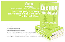 The Dieting Weight Loss Correction