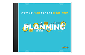 How To Plan For The Next Year
