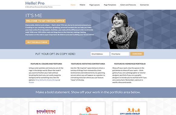 Hello Pro Genesis Frame Work WordPress Theme