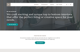 Interior Pro Genesis Framework WordPress Theme